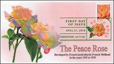 18-102, 2018, Peace Rose, Flowers, Digital Color Postmark, FDC