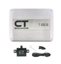 CT Sounds Car Audio Amplifier Monoblock T-500.1D Amp True 500w RMS Class D Power