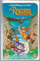 Walt Disney Classic - The Rescuers, DOWN UNDER - Black Diamond - VHS - Clamshell