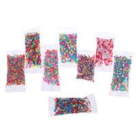 10 gr / paket Polymer Clay Gefälschte Süßigkeiten Süßigkeiten Streusel diyRSWJ