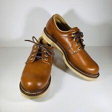 Ramrods 46465 Men's Work Shoes Oil Resistan Bottom Sole Size 8