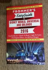 Frommer's EasyGuide to Disney World, Universal and Orlando 2016  Like New