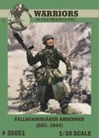 Warriors 1:35 Fallschirmjager Ardennes Dec.1944 Resin Figure Kit #35051