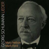 Mary Nelson - G. Schumann: Lieder [Mary Nelson; Mark Ford] [Stone [CD]