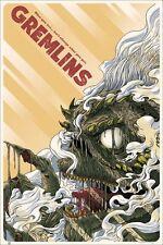 "MONDO Gremlins Poster Randy Ortiz  24""x36"" ScreenPrint Limited edition 61x91,4cm"