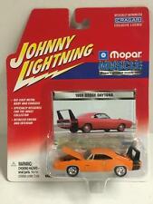 Johnny Lightning 6 Car Set GTX, Daytona, Charger, Duster, Cuda, Road Runner