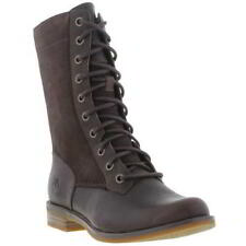 Timberland Magby Mid Combat Military Lace Womens Leather Boots Sizes UK 4-8