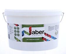 (11,19 €/L) 2,5 L Wetterschutzfarbe - Lack   - Betongrau Ral - 7023 -