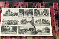 AK Gruß aus Ahlen, Mehrbildkarte - *1940 - 9 Abbildungen - Hermann Lorch - Dortm