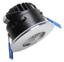 SPOT A ENCASTRER CHROME IP65 RT2012 (LAINE DE VERRE DÉROULÉE) LED 9W 230V, 3000K