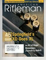 American Rifleman Magazine June 2004 .45 Soringfield XD  XL Art of Ruger