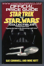 1991 OFFICIAL PRICE Guide to STAR TREK & STAR WARS Collectibles MINT UNREAD!