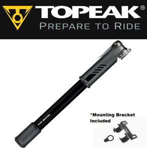 Topeak Roadie DAX Dual-Action PRESTA Alloy Easy Bike Frame Pump TRDAX-1 120psi
