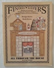 Finders Keepers Painting Pattern Book ALL THROUGH THE HOUSE 7 Christmas P White