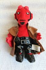 """Hellboy 8"""" beanie plush set Diamond Select 2004 See Pictures Hell Boy Mignola"""