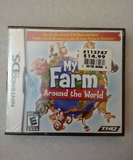 My Farm Around the World (Nintendo DS, 2009) Sealed *BRAND NEW* USA