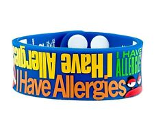 AllerMates I Have Allergies Writeable Wristband