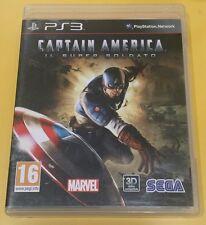 Captain America Il Super Soldato Capitan GIOCO PS3 VERSIONE ITALIANA