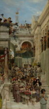 Lawrence Alma Tadema Spring Giclee Canvas Print Paintings Poster LARGE SIZE