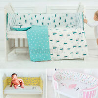 Infant Newborn Baby Crib Bumper Cushion Pad Nursery Bedding Protector  AU2 L0