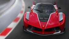 Ferrari fxxk fxx italian supercar Hypercar voiture poster impression photo A3 t