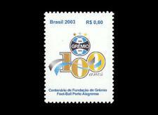 Soccer Brazil Gremio stamp 足球 zúqiú フットボール futtobōru 邮票织物 Yvert 2843 Michel 3322