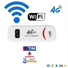Chiavetta Modem Key USB Senza Fili Internet 3G 4G Universale per tutte le Sim 4G
