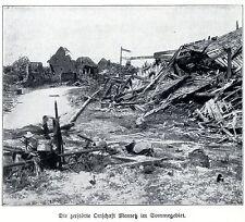1915 * la détruisit localité Mametz à la somme * ww1