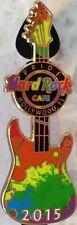 Hard Rock Cafe HOLLYWOOD FL 2015 GAY PRIDE PIN Equality Guitar Rainbow HRC NEW!