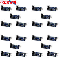 20Pcs LM393 Slot-type 4Pin Optocoupler Speed Sensor Measuring Module for Arduino