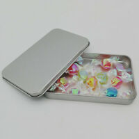 Small Metal Organizer Case Tinplate Can Storage Box For Sticker Money Coin KPLUS