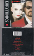 CD EURYTHMICS GREATEST HITS 18T DE 1991 INCLUS SWEET DREAMS + MIRACLE OF LOVE