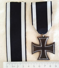 Imperial Germany - Ribbon for 1813 / 1870 / 1914 Iron Cross / Eiserne Kreuz