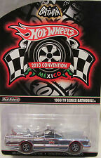 Hot Wheels 1966 TV SERIES BATMOBILE 2010 Mexico Convention RR LTD #00322/03000