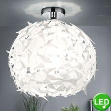 Plafonnier LED 7W luminaire plafond suspension design lampe boule blanc moderne
