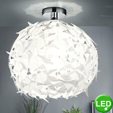Kugel LED Decken Pendel Hänge Lampe Design Leuchte Blätter Küche Flur Diele 7W