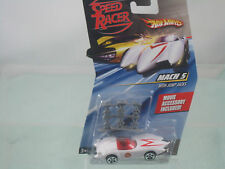 Speed Racer (Hot Wheels) Mach 5 with Jump Jacks Movie Accessory included! 1:64