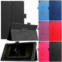 """For Amazon Fire 8 2018 8th Gen 8"""" Inch Tablet Case Magnetic Leather Stand Cover"""