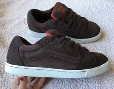 Rare Mens VANS ROWLEY SQUARES Fat Tongue OLD SKOOL Skate Shoes Size 11 Sneaker