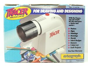 Artograph Tracer Art Drawing Craft Projector Original Box Complete Owners Manual