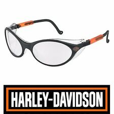 Harley Davidson Motorcycle Biker Safety Sun Glasses-Clear Lenses-MADE IN USA!