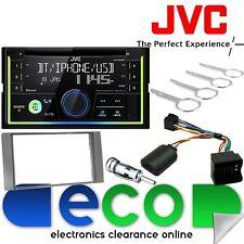 FORD Focus 2005-07 JVC Double DIN Bluetooth CD MP3 USB Voiture Stéréo anthracite Kit