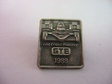 Beautiful Design 1988 GTE The Front Runner Race Car Lapel Hat Pin