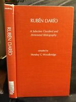 Reuben Dario:Selective Classified Annotated Bibliography by Hensley...1975 HC