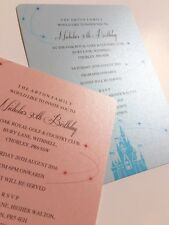 Fairytale | Castle | Princess | Wedding | Party |  Invitations