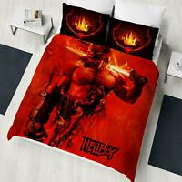 Official Hellboy Single/Double Duvet Cover Reversible Bedding