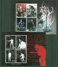 Tuvalu 2011 - Elvis Presley - The King - Alte Fotos von Konzerten - 1702-09 kpl.