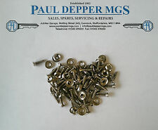 MG Midget Trim Panel Screw & Washer Kit (Silver) TSK004/ RTP605K