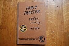 CAT Caterpillar FORTY Tractor Dozer Crawler Parts Manual book spare catalog 40