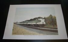 "SOUTHERN RAILWAY ""SOUTHERN CRESCENT"" #1 LE PRINT #51/100 TRAIN - F. CROWE 2005"